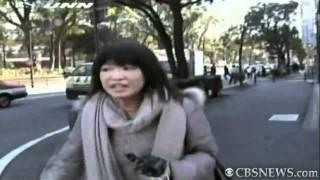 Buildings crumble during Japan's quake