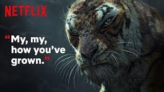 Mowgli: Legend of the Jungle | Clip: Shere Khan Traps Mowgli | Netflix