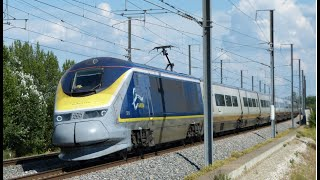 High speed train (TGV, Eurostar, Ouigo) in France