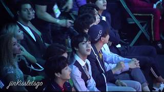 180520 Billboard Music Awards bbmas - Jin Reaction of  In my blood