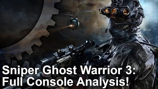 Sniper Ghost Warrior 3: PS4/PS4 Pro vs Xbox One Graphics Comparison + Frame-Rate Test