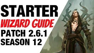 Patch 2.6.1 Wizard Starter Build Guide Season 12 Diablo 3