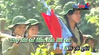 Chào em cô gái Lam Hồng - Trung Đức