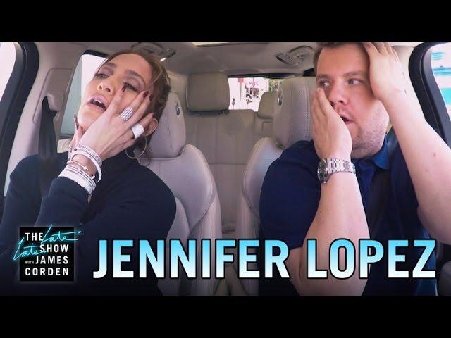 Jennifer Lopez Auto-Karaoke