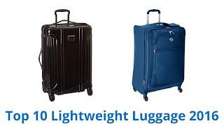 10 Best Lightweight Luggage 2016
