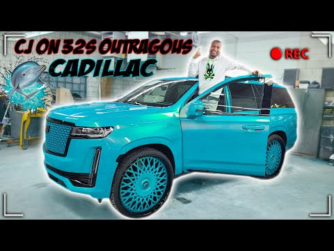 REVEALING MY 2021 ESCALADE ON 30S NEW OUTRAGEOUS PAINT JOB