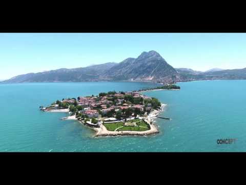 Isparta Eğirdir Göl ve Ada Hava Çekimi