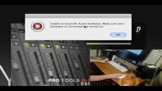 Screencast: M audio pro tools vocal studio PART 1