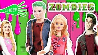 ZOMBIES Disney Channel la película con BARBIE y KEN! - Juguetes y Transformaciones Fantásticas