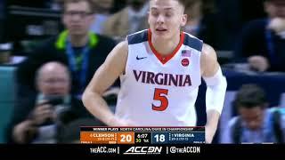 ACC MBB Tournament: Clemson vs Virginia Condensed Game 2018
