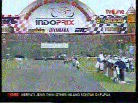 INDOPRIX 2009 ROUND 4 110cc part 1