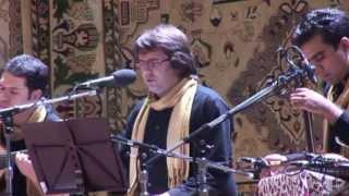 "Majid Derakhshani, Hosein Nourshargh & Group ""Caravan"". Hafez, ""Hejabe chehreie jan"", Moscow, 2013"