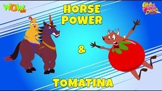 Horse Power | Tomatina - Eena Meena Deeka - Animated cartoon for kids - Non Dialogue