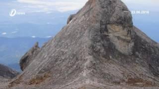 Netizen Kecoh Kemunculan Imej Wajah Di Puncak St John Gunung Kinabalu