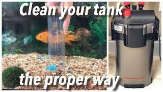 How to clean Marineland Magniflow 220