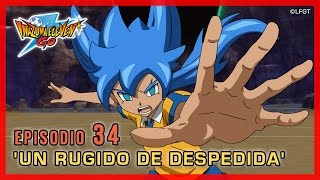 Inazuma Eleven Go Chrono Stones - Episodio 34 español «¡Un rugido de despedida!»