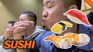 EATING THE BEST SUSHI IN TOKYO, JAPAN // Fung Bros 2017 World Tour