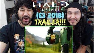 HALO INFINITE - E3 2018 - Announcement TRAILER REACTION!!!