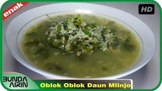 Oblok Oblok Daun Mlinjo Resep Masakan Indonesia Rumahan Mudah Simpel Recipes Indonesia Bunda Airini