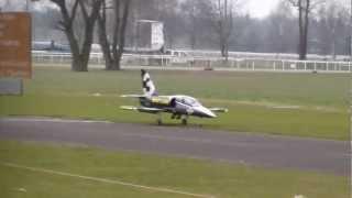 First flight Very Big RC Scale Breitling Albatros L-39 Turbine Jet