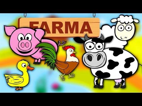 Zwierzęta dla dzieci Nauka zwierząt na wsi Odgłosy zwierząt CzyWieszJak