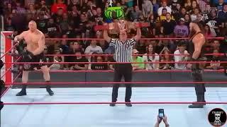Brock Lesner VS Braun Strowman Full Match HD No Mercy 2017 WWE