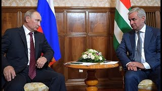 Putin vows to protect Abkhazia's security and independence from NATO and Georgia