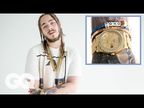 Post Malone on His Insane Jewelry Collection GQ