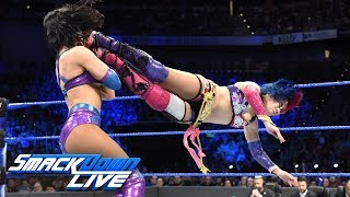 Asuka & Becky Lynch vs. The IIconics: SmackDown LIVE, April 24, 2018