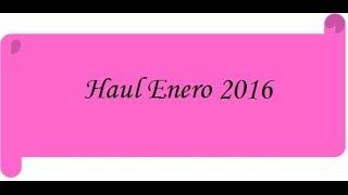 Haul Enero 2016 (Sybilla, Denimlab, Essence, Avent)