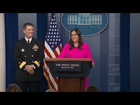 White House press briefing on President Donald Trump s physical ABC News