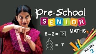 Maths School Syllabus Senior Kindergarten | Learn Maths For Kids | CBSE | NCERT | Pre School Maths