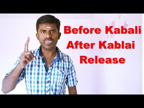 Before Kabali - After Kabali - Release
