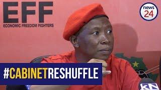 Zuma should have reshuffled himself - Malema