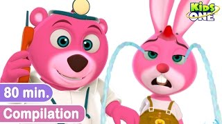 Five Little Bunnies & Other Rhyme Compilation for Children | KidsOne