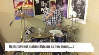 Subdivided 16th Note Drum Fill - Alex Ribchester