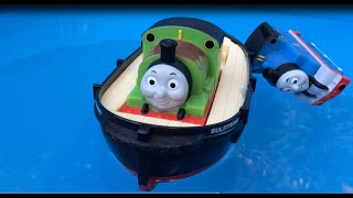 Thomas and Friends Toy Trains Percy Disney Cars Bath Buddies Water Toys