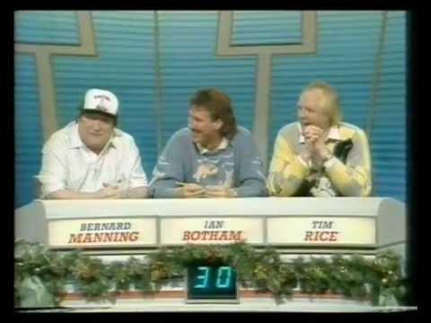 bernard manning on question of sport 1988