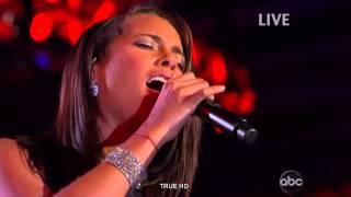 Alicia Keys ,HD , No One , The Neighborhood Ball , 2009, live , HD