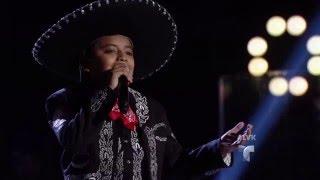 José interpreta 'Canto a la Madre' para su abuelita | Audiciones | La Voz Kids 2016