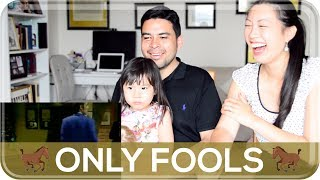AMERICANS REACT TO BRITISH COMEDY: Only Fools & Horses   The Postmodern Family EP#151