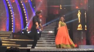 Vijay Awards 2014 DD and Sharuk Khan dancing for thaiya thaiya