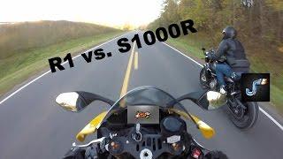 Yamaha R1 vs. BMW S1000R