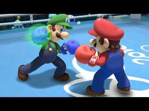 Mario and Sonic at the Rio 2016 Olympic Games All Events Wii U