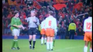 Euro '96 Qualifying Play-Off: Netherlands 2 - 0 Ireland (Anfield, Liverpool; 13th of December, 1995)