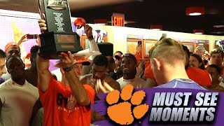 Dabo Swinney Speech In Clemson Locker Room After FSU Win is All Access