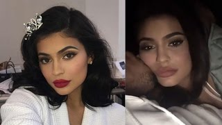 Tyga Can't Stop KISSING Kylie Jenner In Major Snapchat PDA