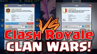 Clash Royale - Announcing *CLAN WARS!*