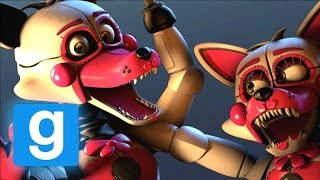 SISTER LOCATION FUNTIEM FOXY'S SECRET BASE ?! - Mangle's and MORE! (FNAF Gmod)