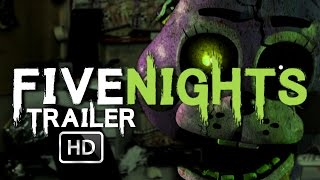 FIVE NIGHTS (At Freddy's) Movie Trailer